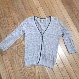 H&M small lace cardigan